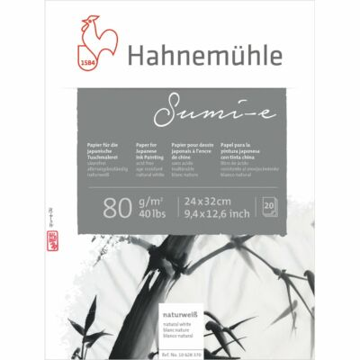 Sumi-e tusfestő tömb - Hahnemühle 20 lap