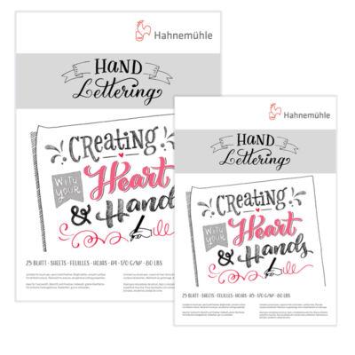 Hahnemühle Hand Lettering kalligráfia tömb 2 darab különböző méretű előnézeti képe