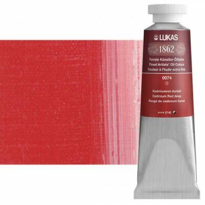 Lukas 1862 olaj 0074 kadmiumvörös sötét (Cadmium Red deep)