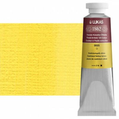 Lukas 1862 olaj 0025 kadmiumsárga citrom (Cadmium Yellow lemon)