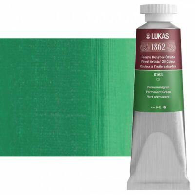Lukas 1862 olaj 0163 permanenszöld (Permanent Green)