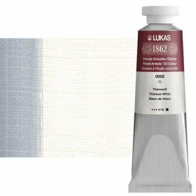 Lukas 1862 olaj 0008 titánfehér (Titanium White)