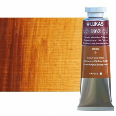 Lukas 1862 olaj 0138 transzparenssárga-oxid (Transparent Yellow Oxide)