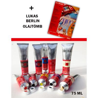 Lukas Terzia olaj 10x75 ml válogatás + Berlin olaj tömb