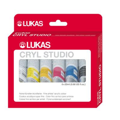 Lukas Cryl Studio készlet 6 × 20 ml