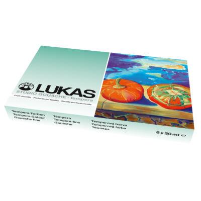 Lukas Studio Gouache készlet 6 × 19 ml