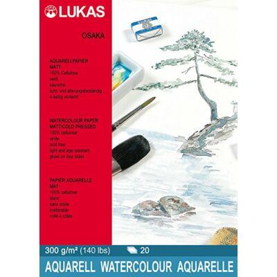 Lukas Osaka matt 300g/m² 36×48 cm akvarellpapír tömb