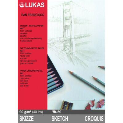 Lukas San Francisco óriás (A2) skicc és pasztell tömb