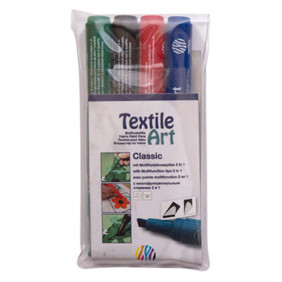 Nerchau Textile Art textilfilc - készlet CLASSIC 4 darabos