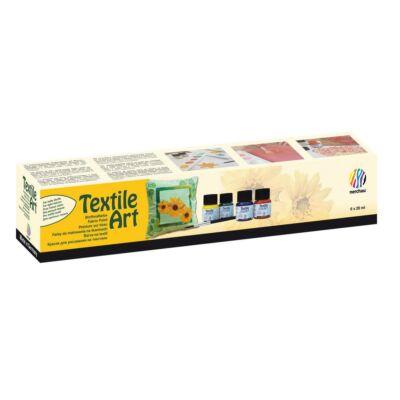 Nerchau 6 × 20 ml textilfestő kezdőkészlet