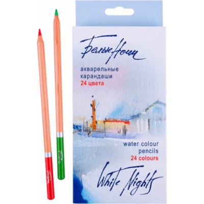 White Nights 24 db-os akvarell ceruza készlet, Nevskaya Palitra