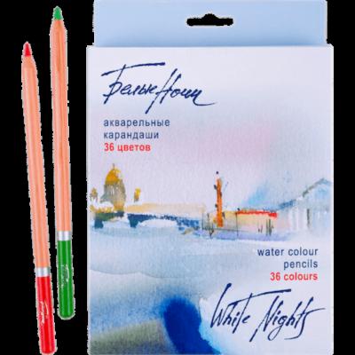 White Nights 36 db-os akvarell ceruza készlet, Nevskaya Palitra