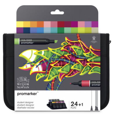 Promarker Winsor&Newton 24 db-os  (Student Designer) filctoll készlet